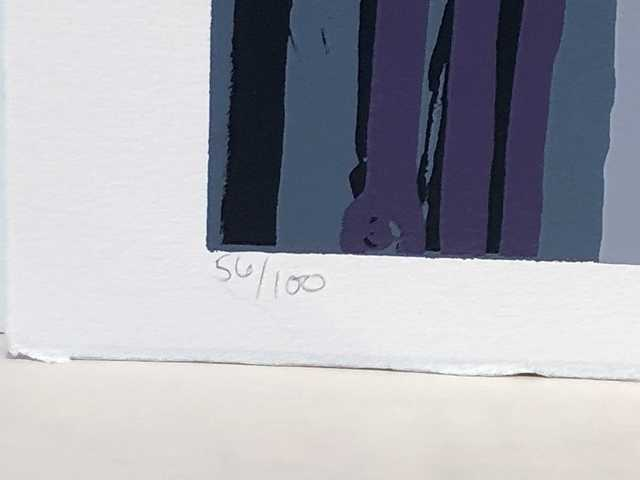 Larry Poons, 'Untitled', 1969, Print, Silkscreen, Anders Wahlstedt Fine Art