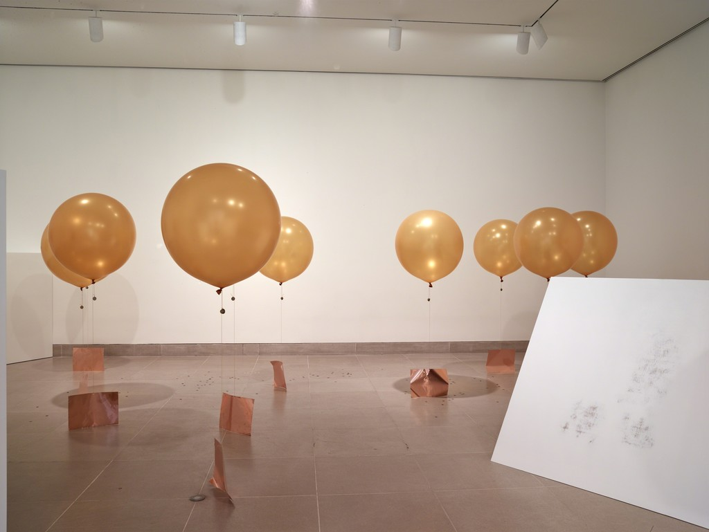 "Installation view of ""Concentrations 58: Chosil Kil."" Courtesy of Dallas Museum of Art, Dallas (2015)"