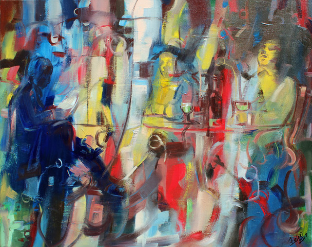 , 'The Absinthe Drinker,' 2017, Art Village Gallery