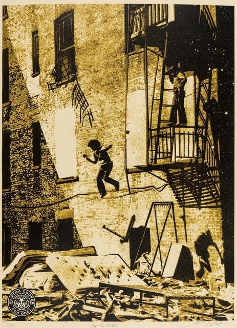 Shepard Fairey, 'Leap of Faith - Martha Cooper', 2009, Forum Auctions