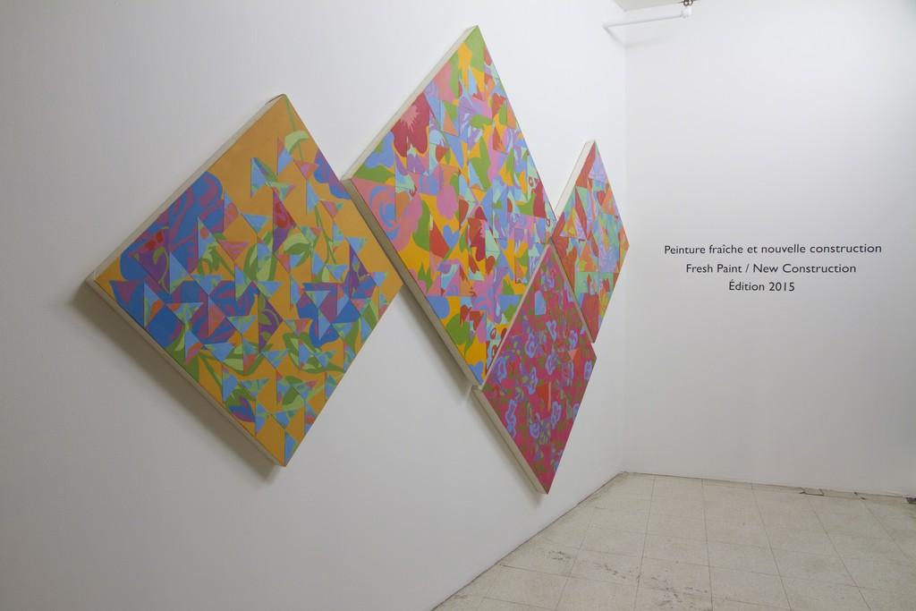 Amanda Marie Abrahams, Arrangement, 2015 (University of Manitoba, Winnipeg, AB)