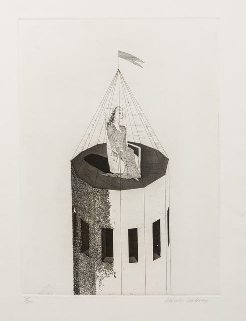 David Hockney, 'The Princess in Her Tower (Tokyo 68)', 1969, Forum Auctions