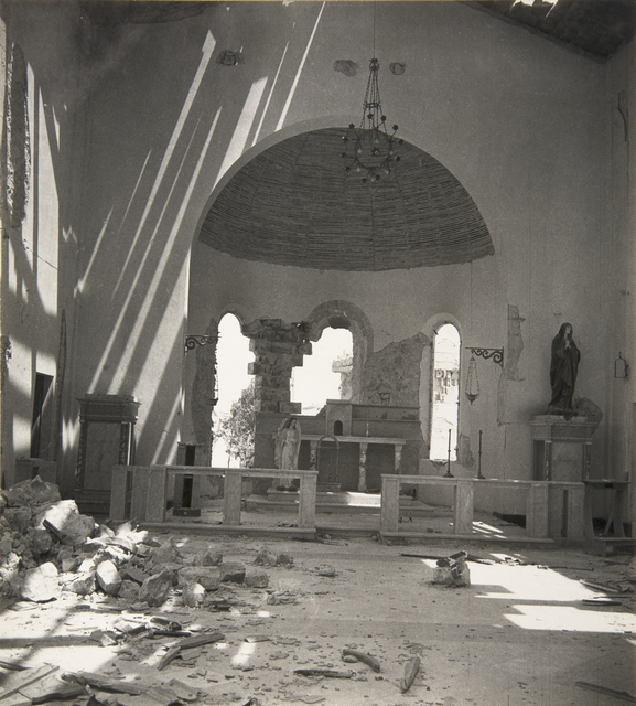 , 'The Church at Tobruk, Libya,' 1942, Beetles + Huxley