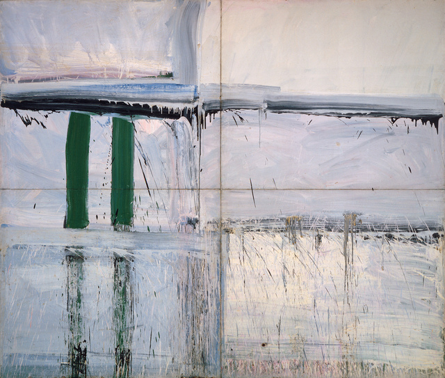 , 'Four Panel Green-Big Green ,' 1956-1957, Mana Contemporary