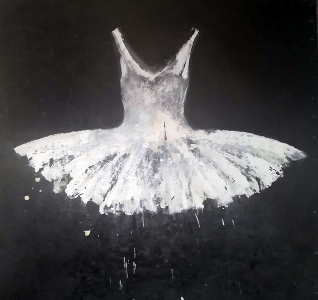 , 'White Ballet Dress,' 2018, Galleria Ca' d'Oro