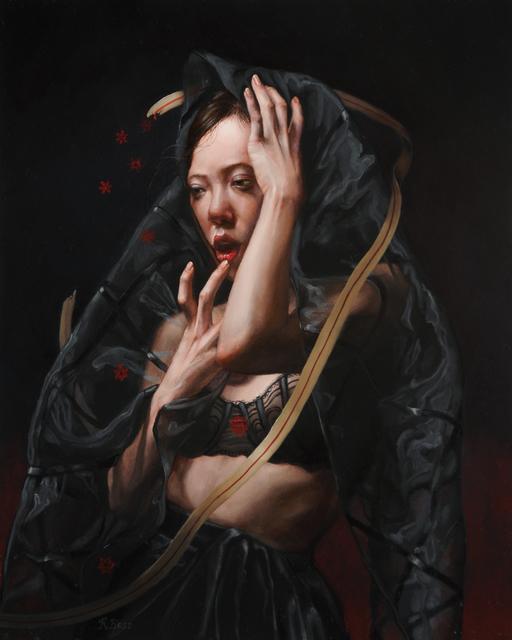 Rachel Bess, 'Bloodflakes Spilling from a Torn Lifeline', Lisa Sette Gallery