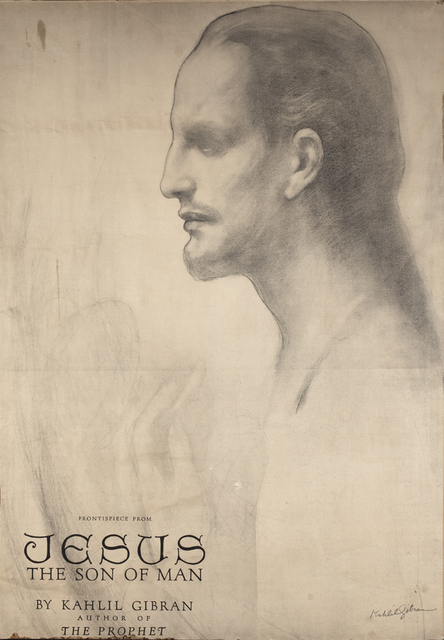 , 'Cartel de la portada de Jesús el Hijo del Hombre,' 1928, Museo Soumaya