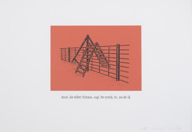 , 'Darüber Hinaus ,' 2006, Galerie Judith Andreae