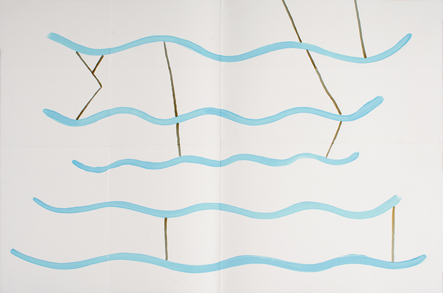 , 'Blue Lagoon (1),' 2016/2017, Anglim Gilbert Gallery