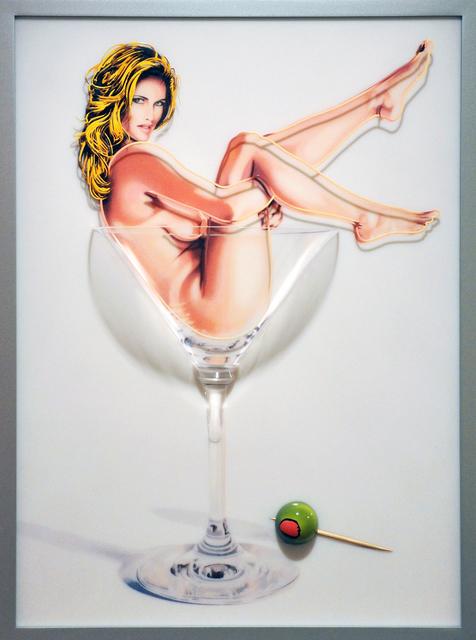 Mel Ramos, 'Martini Miss #1', 2013, Modernism Inc.