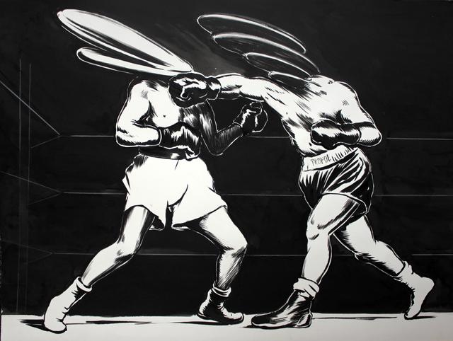 , 'Boxers,' 2014, Laufer