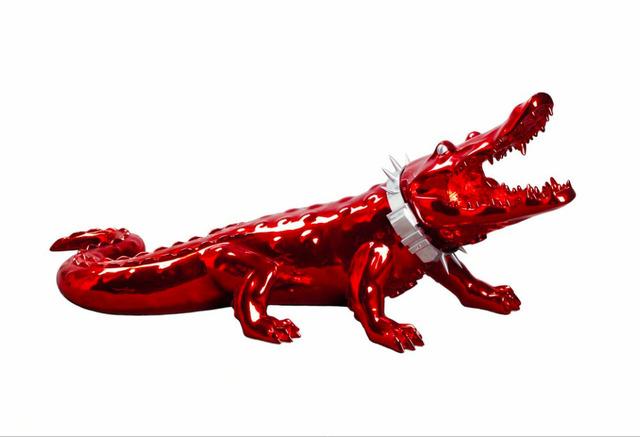 Richard Orlinski, 'Crocodile with Wild Neck Collar ', Art Angels