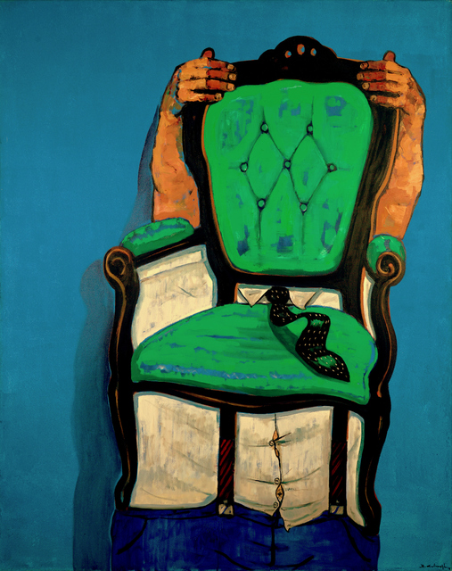 , 'Green Chair,' 2018, Cep Gallery