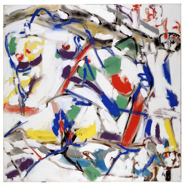 , 'Revolving Painting III,' 1994, PLUTSCHOW GALLERY
