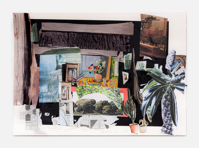 Simone Fattal, 'Earth Day 3', 2020, Drawing, Collage or other Work on Paper, Collage, Galerie Hubert Winter