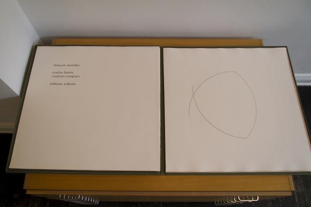 François Morellet, 'Cercles brisés, couleurs rompues', 1993, JORDAN / SEYDOUX