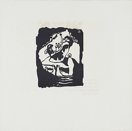 18 black and white woodcuts from Klange