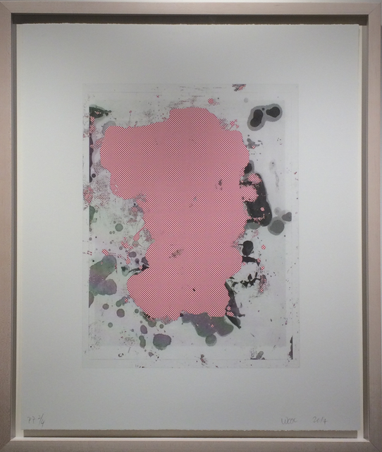 Christopher Wool, 'Portraits #6 (red)', 2014, Soho Contemporary Art