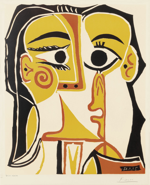 Pablo Picasso, 'Tête de femme', 1962, Christie's