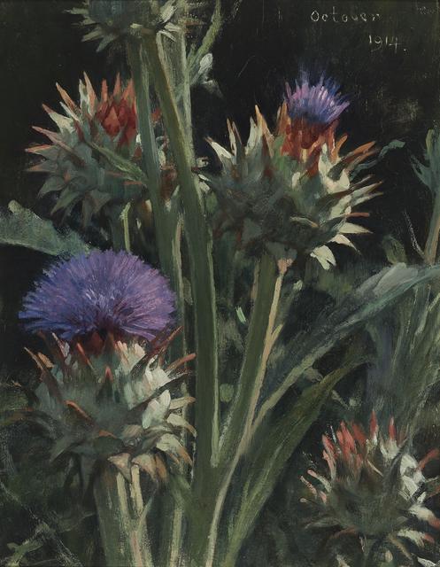 Jacobus van Looy, 'Artichoke', 1914, Mireille Mosler Ltd.