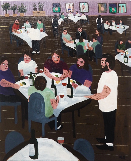 , 'Fine Dining,' 2018, Kristin Hjellegjerde Gallery