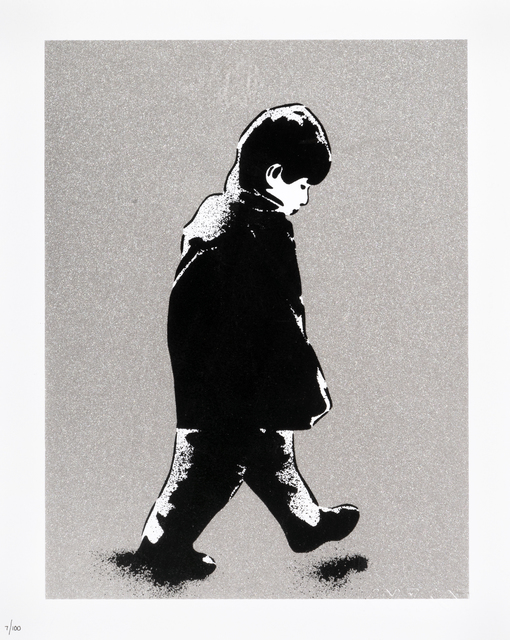 ICY and SOT, 'Little Boy (Silver)', 2014, Print, Screen print in colours on paper, Tate Ward Auctions