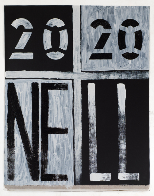 , '2020 NELL,' 2018, Roslyn Oxley9 Gallery