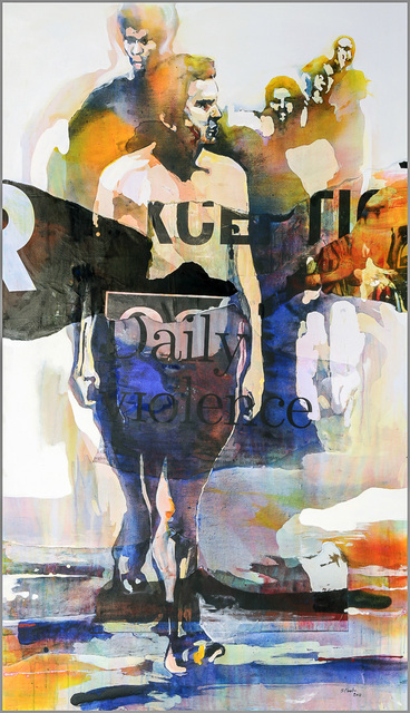 Bruce Clarke, 'Daily Violence', 2014, Out of Africa Gallery