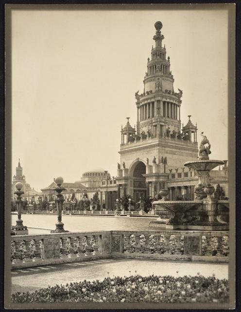Willard Worden, 'The Tower of Jewels', 1915, de Young Museum