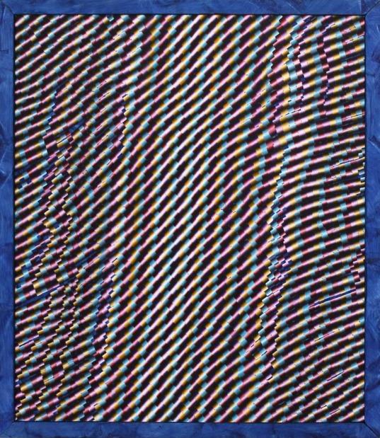 , 'Attempt 146 (blue frame),' 2016, Circuit12