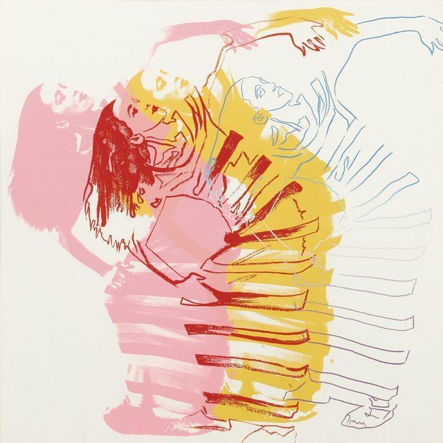 Andy Warhol, 'Satyric Festival Song (Unique)', 1986, Revolver Gallery