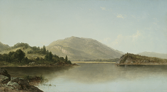 , 'Bear Mountain and Iona Island on the Hudson River,' 1872, Questroyal Fine Art
