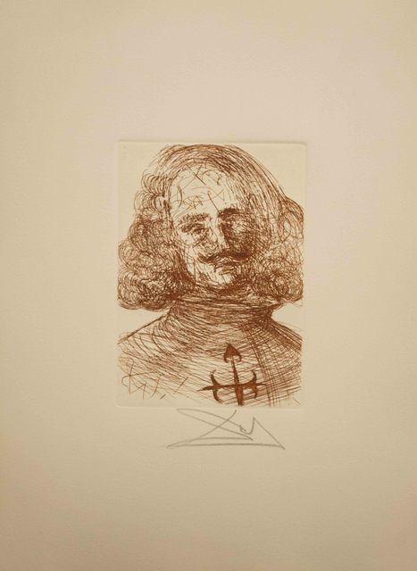 Salvador Dalí, 'Velazquez from the Five Spanish Immortals Series', 1968, The Munn Collection
