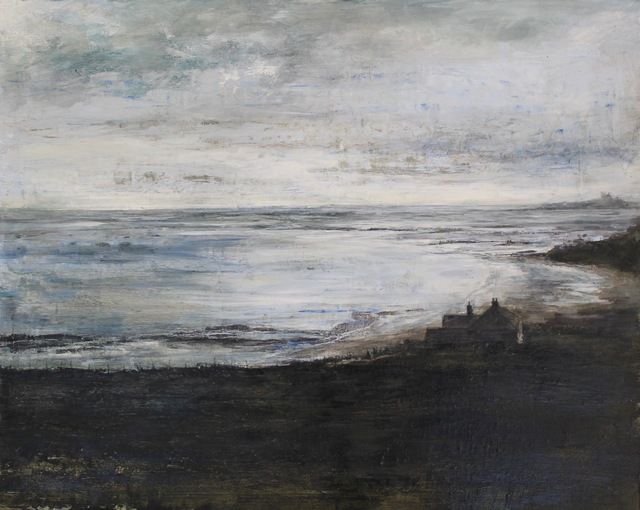 , 'Evening Tide Low Newton by the Sea Northumberland,' 2017, The Biscuit Factory