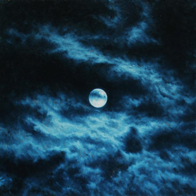 , 'Moon 3,' 2016, Porch Gallery