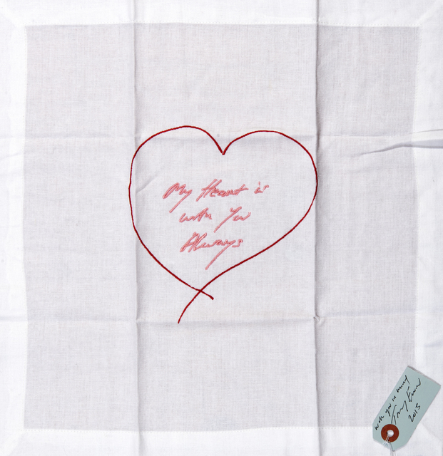 Tracey Emin, 'My Heart Is With You Always', 2015, Tate Ward Auctions