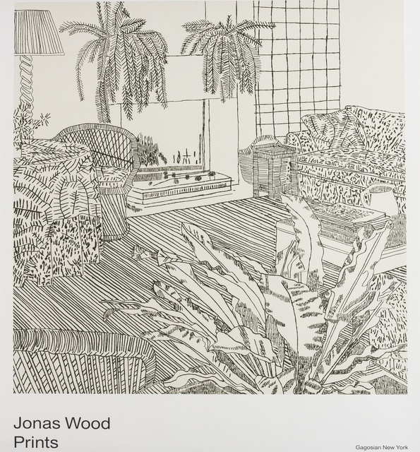 After Jonas Wood, 'Prints, Gagosian Gallery', Forum Auctions