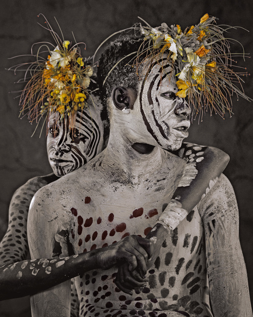, 'Dele & Lale Omo Valley Ethiopia,' 2011, Opiom Gallery