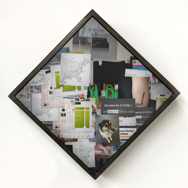 , 'Clock,' 2019, bitforms gallery