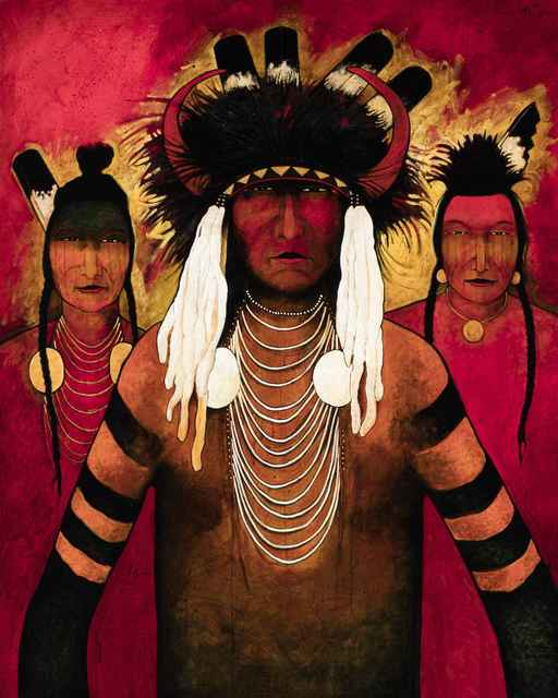 , 'Crow Wolves,' , Sorrel Sky Gallery