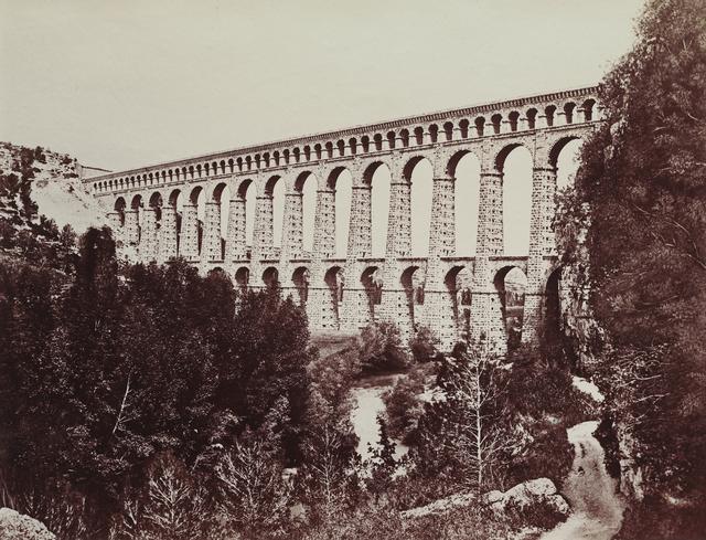 Édouard Baldus, 'Aqueduct, Roquefavour', 1859-1861, Seagrave Gallery