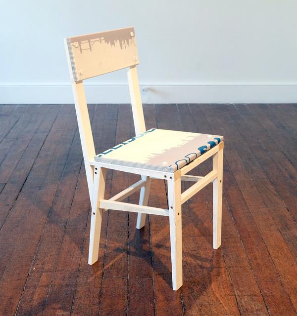 , 'For Sale Chair (OR SA),' 2018, Charlie Smith London