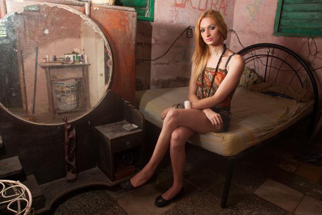 , 'Laura at Home, Havana,' 2013, Elizabeth Houston Gallery