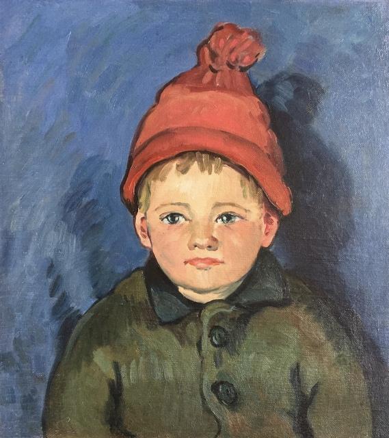 , 'Red Knit Cap,' ca. 1930, Bakker Gallery