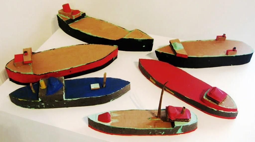 Doug Britt: PAPERBOATS, 1993