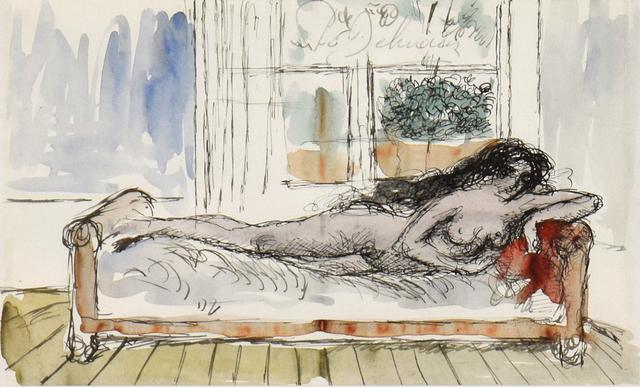 , 'Nu Couché,' ca. 1969, Stern Pissarro
