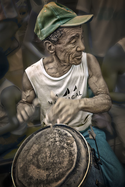 , 'Drumming for Saint Lazaro,' 2013, The Perfect Exposure Gallery