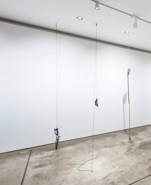 , 'um kg, um metro, um tempo,' 2016, Galeria Raquel Arnaud