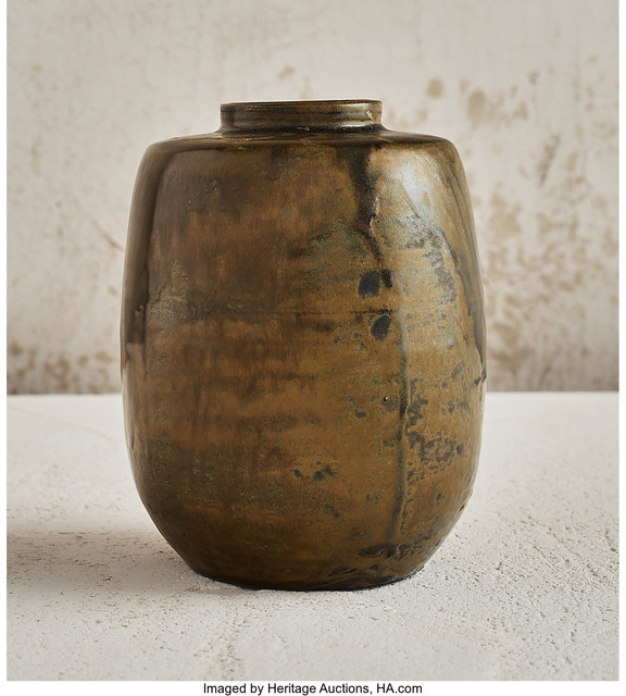 Jean-Joseph Carriès, '35Moss Vase', 1890, Heritage Auctions
