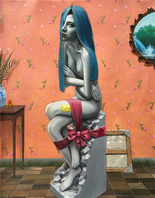 , 'The gift,' 2015, Galeria Senda